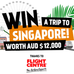 Win a Trip To Singapore worth $12,000