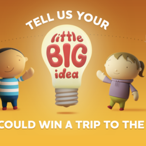 Share in $100,000 of prizes by sharing your idea