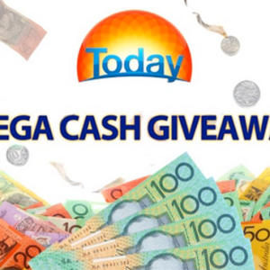I wake up with TODAY Block of Cash Competition Code Word- Win $10,000  Jackpot today