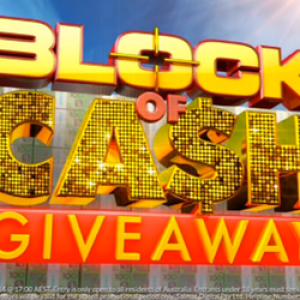 The Block of Cash $10,000 per day Giveaway