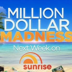 Sunrise Million Dollar Madness Daily Code Word Here