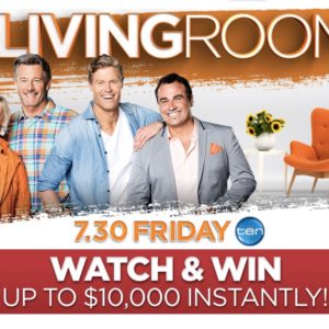 The Living Room Competition – Win up to $25,000 with the Code Word