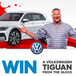 The Block Competition WIN a VW with the Code word 2017